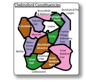 Chelmsford Constituency Boundaries
