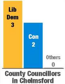 County Cllrs bar chart