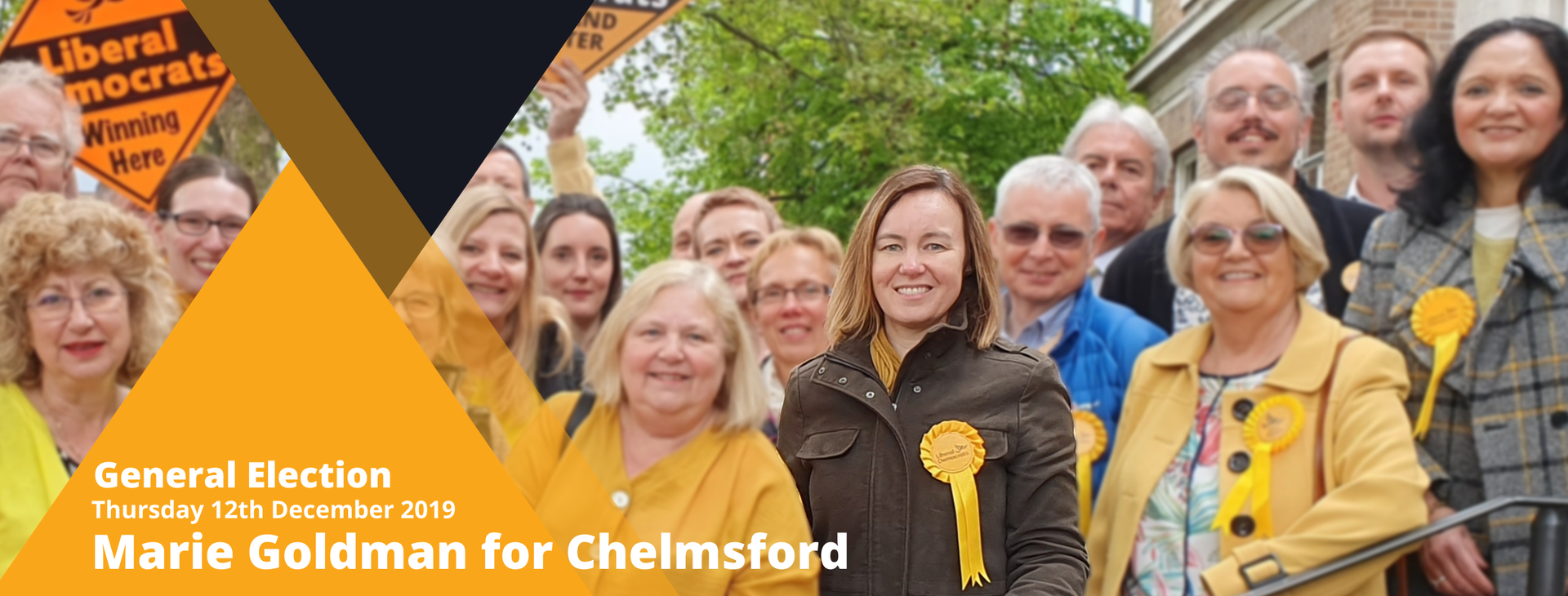 Marie Goldman and the Chelmsford Liberal Democrats
