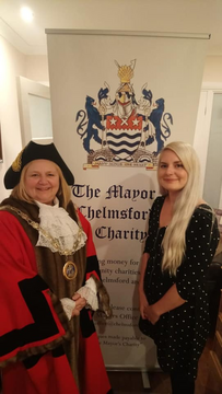 Mayoress Jude Deakin and Daughter