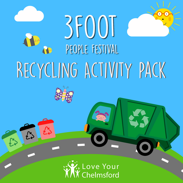 3 foot people recycling pack (Chelmsford City Council)