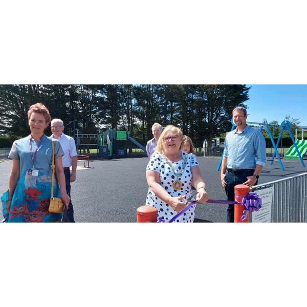 Andrews park play area opened by Mayor