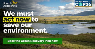 A green recovery plan