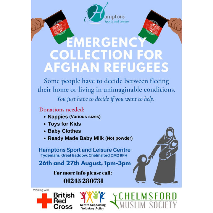 Appeal for help for Afghans